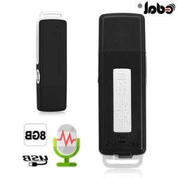 EDAL Mini 8GB USB Recording Pen Flash Drive Disk <font><b>Di