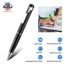 Mini Digital Voice Activated Spy Recorder Pen Rechargeable A