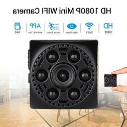 Mini Spy Mini Camera Voice Recorder 1080P WiFi Infrared Remo