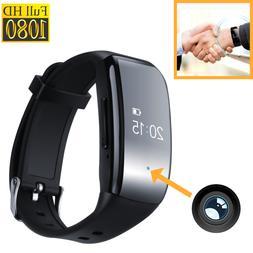 Mini Spy 1080p Camera HD Voice Recorder Watch Listening Devi