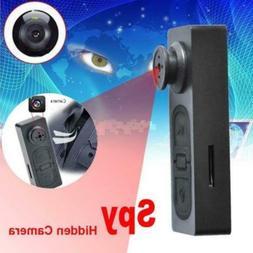 Mini USB Button Shirt Jacket Spy Hidden Camera Voice Wireles