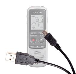 Mini USB Digital Data Sync Cable for Sony ICDPX333.CE7 4GB P