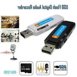 Mini USB Digital Pen Audio Voice Recorder Dictaphone 8GB 32G