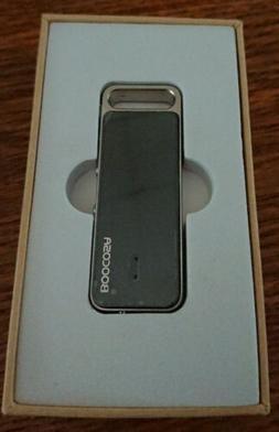 BOOCOSA Model: VR-002 / Multifunction Voice Recorder w/ Ear