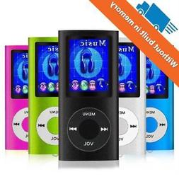 Mp3 Mp4 Player 64 GB Digital Compact Portable Photo Viewer V