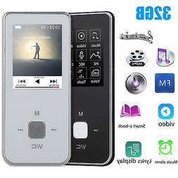 MP3 MP4 Player LCD HiFi FM Radio Video Voice Recorder Lossle