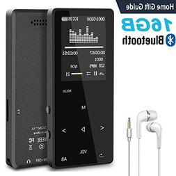 MP3 Music Player with Bluetooth, ASINNO 16GB Digital Lossles