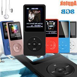 Agptek MP3 Music Player FM Radio Lossless Sound Recorder Pla