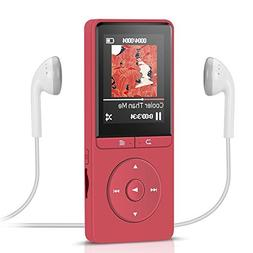 8GB MP3 Player with FM Radio/Voice Recorder,AGPTEK Lossless