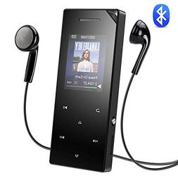 AGPTEK 16GB MP3 Player with Bluetooth 4.0, Speaker &Touch Bu