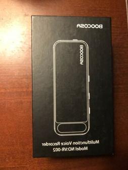 Boocosa Multifunction Digital Voice Recorder, VR-002