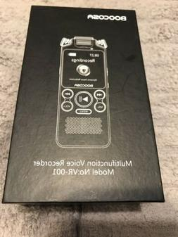 Boocosa Multifunction Voice Recorder Model No: VR-001 Open B