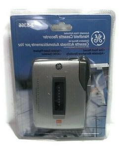 GE General Electric Automatic Voice Activated Handheld Casse