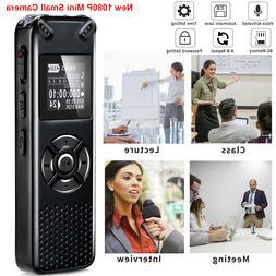 New 1080P Mini Small Micro Camera with Back Clip Body Camera