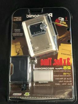 NEW! Panasonic Cassette Recorder RQ-L51 3X REC TIME VAS Voic