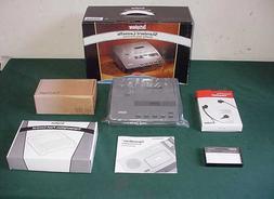 NEW Dictaphone 2740 STANDARD CASSETTE Transcriber VOICE Proc