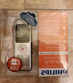 *NEW* Philips Digital Voice Recorder 2000