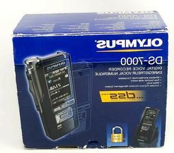 New Olympus DS-7000 Professional Dictation Digital Voice Rec