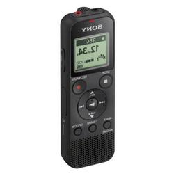 New Sony ICD-PX370 Digital Voice Recorder with USB 4GB MP3 M