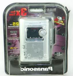 New Panasonic RQ-L31 Portable Cassette Recorder with Slide M