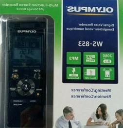 New Olympus Voice Recorder WS-853 with 8GB, Voice Balancer,