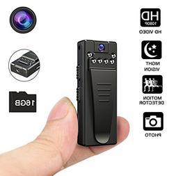 Night Vision Hidden Camera, HD Mini Camera, Nanny Camera wit