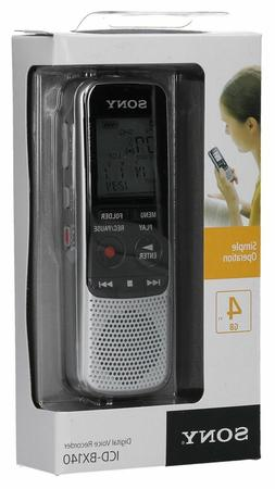 Paranormal Ghost Hunting Equipment Sony Digital EVP ICD-BX14