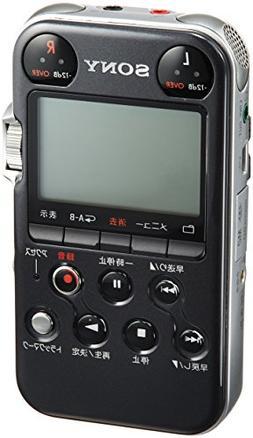 Sony PCM-M10/B Portable Linear PCM Recorder, 96 kHz/24-bit,
