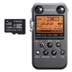 Sony PCM-M10 Portable Audio Recorder  With extra Sony 32GB m