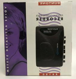Suntone Personal cassette player recorder voice activated re