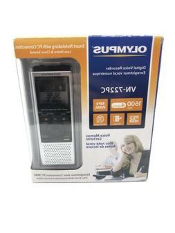 Pocket Hand Held Olympus Digital Voice Recorder 4 GB Built-I