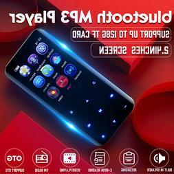 Portable bluetooth MP3 Player MP4 Music FM Radio Voice Recor