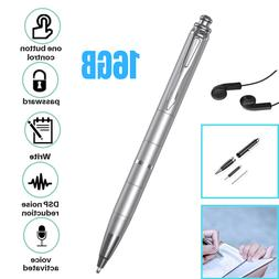Portable Digital Voice Activated Recorder Spy Mini Audio Pen
