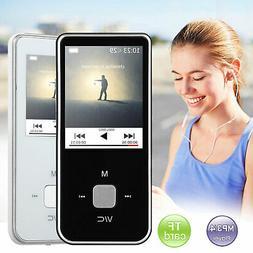 Portable MP3 MP4 Player LCD HiFi FM Radio Video Voice Record