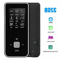 Portable MP3 MP4 Player LCD Screen HiFi FM Radio Video Voice