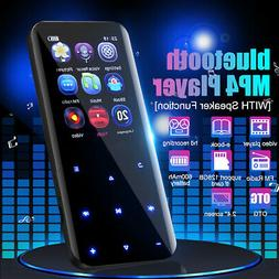Portable OTG bluetooth MP3 Player MP4 Music FM Radio Voice R