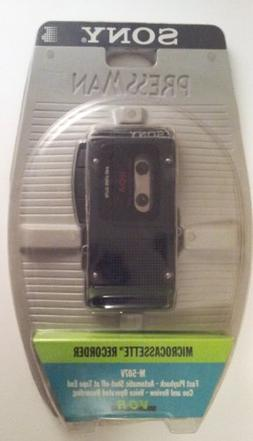 SONY Pressman M-507v Microcassette Recorder Voice Activated