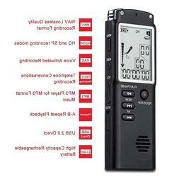 Professional USB Voice Recorder 8GB / 16GB / 32GB  96 Hours