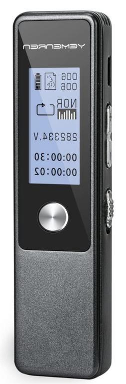 Yemenren R3 Digital Voice Recorder 8GB 3072Kbps Voice Activa