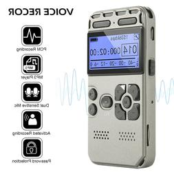 Rechargeable LCD Digital Audio Sound Voice Recorder Dictapho