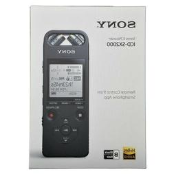 Sony High-Resolution Portable Audio Recorder #ICD-SX2000
