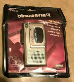 Panasonic RN-305 Handheld Micro Cassette Tape Voice Recorder