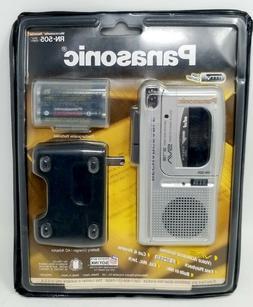 Panasonic RN-505 Handheld Cassette Voice Recorder- SILVER/NE