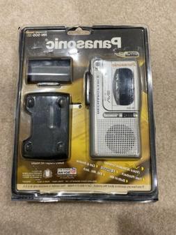 Panasonic RN-505 Rechargeable Micro Cassette Recorder w/ Voi