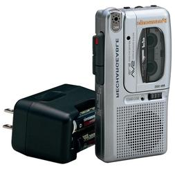 Panasonic RN-505 Rechargeable Micro Cassette Recorder with V