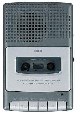 """RCA RP3504 Cassette""""Shoebox"""" Voice Recorder"""