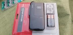 RCA RP3528 Micro-Cassette Voice Recorder complete with 3  Mi