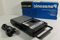 Panasonic RQ-2102 Handheld Cassette Voice Recorder