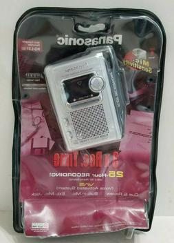 Panasonic RQ-L31 Handheld Mini Cassette Voice Recorder Brand