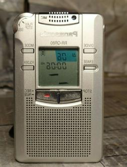 PANASONIC RR-QR80 Handheld Digital Voice Recorder Clean test